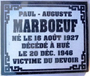 MARBOEUF x light Paul-Auguste